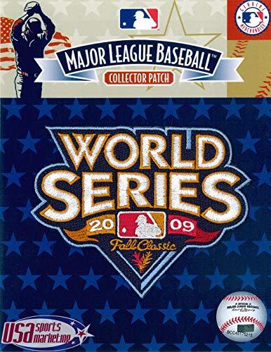 (MLB Yankees 2009 World Series Logo Patch)