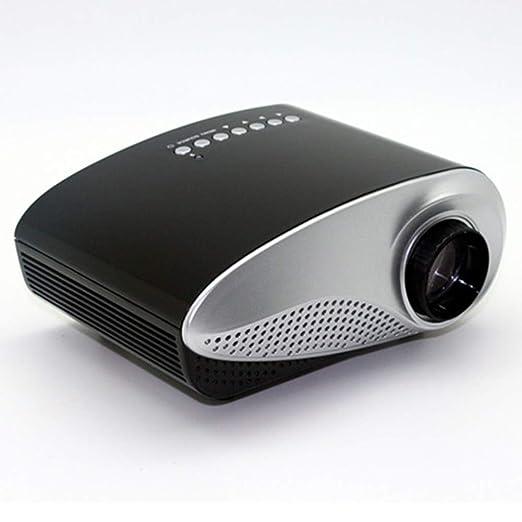 Proyector Pequeño, Soporte 1080 HD Led para El Hogar, Fiesta ...