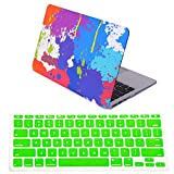 HDE Macbook Air 11 Case Hard Shell Cover Solid Matte + Keyboard Skin for Apple Mac Air 11.6