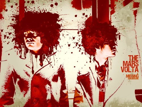 c48a1744ef7da omgposter D7184 The Mars Volta Progressive Rock Band Splashes Art Music  32x24 Print POSTER