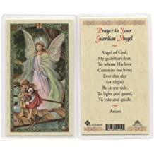 Prayer to Your Guardian Angel Holy Card (HC92E) -047- Laminated