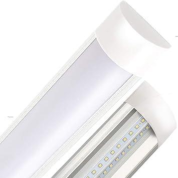 T10 Luz de día Lámpara LED Tubo para Oficina Garaje Supermercado Gimnasios Balcón Cocina Supermercados 60CM 20W 3000K 1pc XYD®: Amazon.es: Bricolaje y herramientas