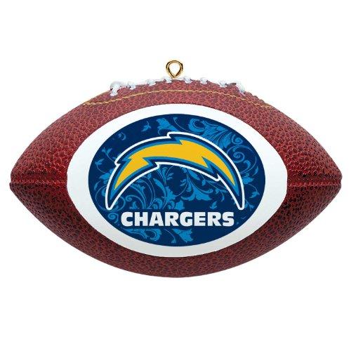 NFL San Diego Chargers Mini Replica Football Ornament