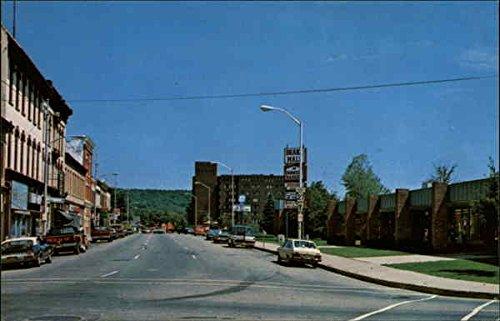 Downtown shopping district Titusville, Pennsylvania Original Vintage - La Downtown District Shopping