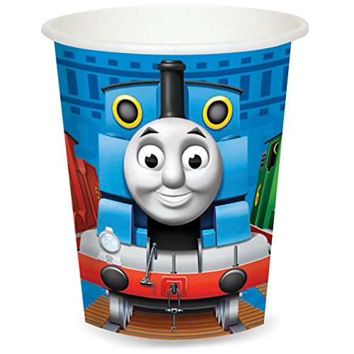 American Greetings Thomas The Tank Cups (8 Count)]()