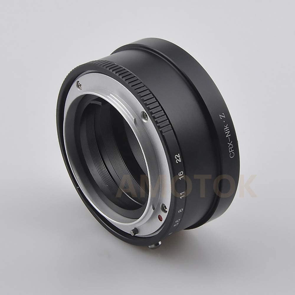 P60 to Z6 Adapter,for Pentacon 6 P60 Kiev Lens to for Nikon Z Mount Z6 Z7 Z 250 Full Frame Camera