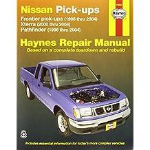 Nissan Pick-ups: Frontier pick-ups (1998 thru 2004), Xterra (2000 thru 2004), Pathfinder (1996 thru 2004)
