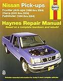 img - for Nissan Pick-ups: Frontier pick-ups (1998 thru 2004), Xterra (2000 thru 2004), Pathfinder (1996 thru 2004) (Haynes Repair Manuals) book / textbook / text book