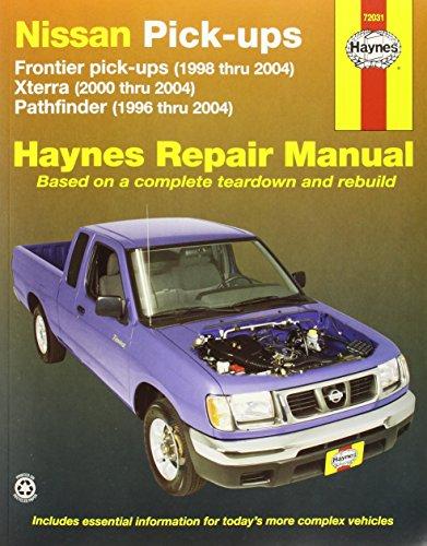Owners Manual Quest Nissan (Nissan Frontier Pickup 98-04, Pathfinder 96-04 & Xterra 00-04 (Haynes Repair Manuals))