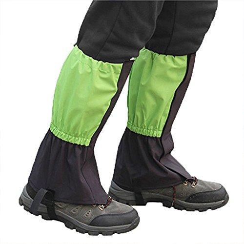 Tofree Wandern Gamaschen Bein Gamaschen Outdoor-Schnee Regen Klettern Wandern Wasserdichte Boot Cover