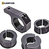 #2: LAMPHUS Cruizer LED Off-Road Light Horizontal Bar Clamp Mounting Kit 1