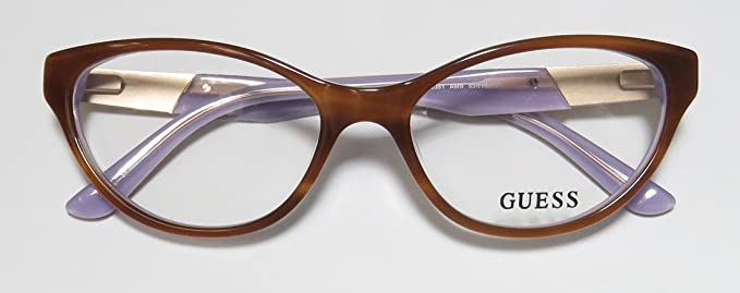 Amazon.com: Guess 2351 Womens/Ladies Cat Eye Full-Rim ...