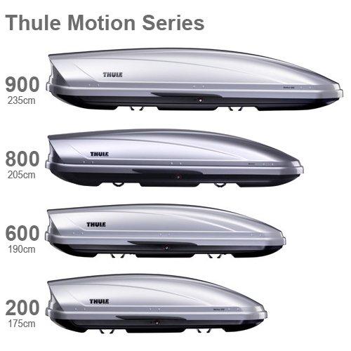 Thule 620901 Motion Schwarz G/änzend XXL