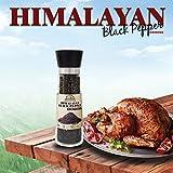 Himalayan Chef Black Pepper Grinder, 6.4