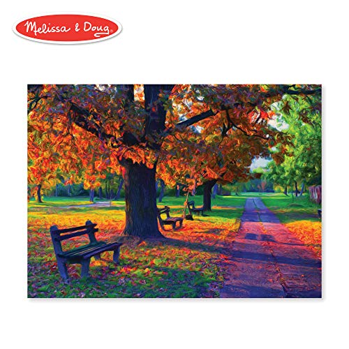 Melissa & Doug 1,500-Piece Walk in the Park Jigsaw Puzzle (33 x 24 inches)
