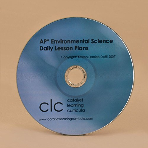 AP Environmental Science Daily Lesson Plans, CD-ROM