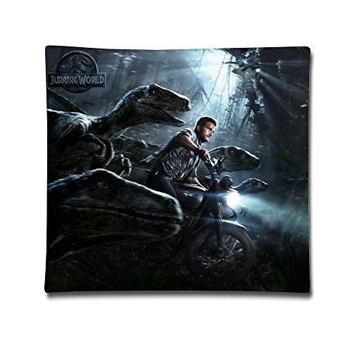 FHY Jurassic World Movie 2-Sides Printing Personalized Custom Cotton Pillow Case 18