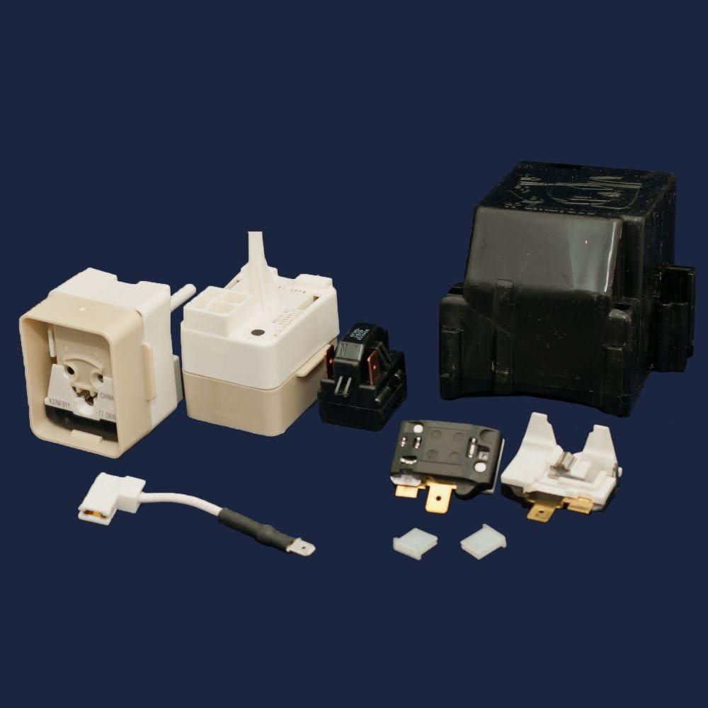 Whirlpool 8201786 Refrigerator Compressor Overload and Start Relay Kit Genuine Original Equipment Manufacturer (OEM) Part