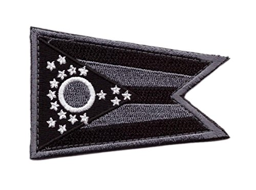 Hook Subdued ACU Ohio State Flag Tactical Morale Militia Patch OH03