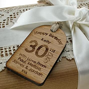 Personalised 30th Birthday Gift For Her Ideas Uk