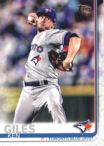 2019 Topps Series 1 Baseball #184 Ken Giles Toronto Blue Jays Official MLB Trading Card