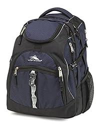High Sierra 53671-4800 Access Backpack, Midnight Blue/Black, International Carry-On