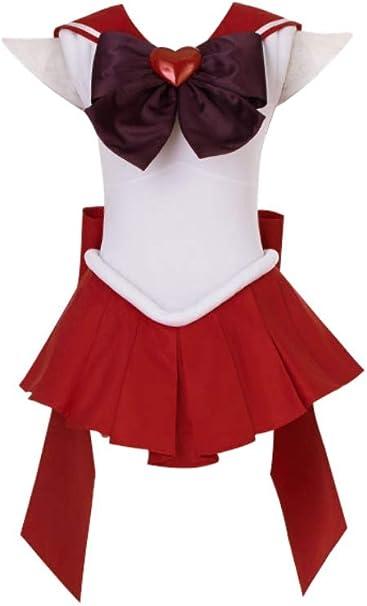 Mtxc mujer Sailor Moon cosplay disfraz de lucha Hino Rei supers 3ª ...