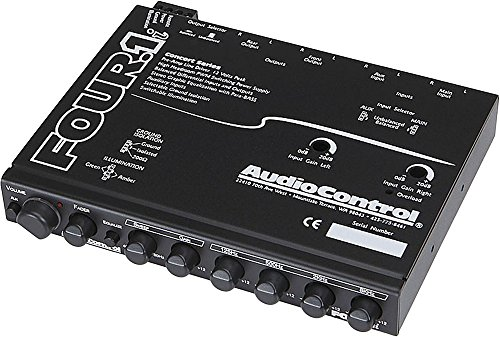 FOUR.1 - AudioControl In Dash Equalizer/Line Driver
