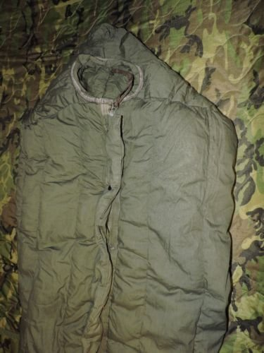 Very Warm Military US Army SUBZERO Extreme Cold Weather ECW Down GI Sleeping Bag