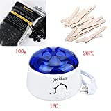 Facial Brush Argos - Hot Sale!!!OVERMAL Rapid Melt Hair Removal Waxing Kit Electric Hot Wax Warmer With1x100g Hair removal wax & 20xWiping sticks