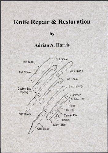 Books BK239-BRK Knife Repair & - Lockback Folder Knife