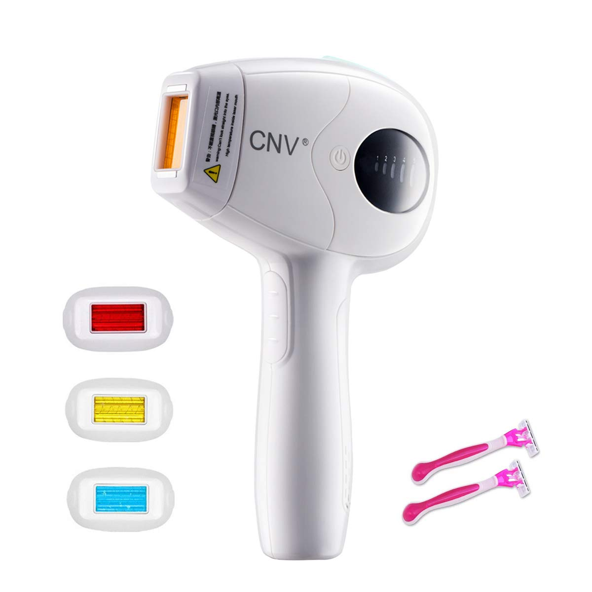 New Permanent Hair Removal New WPL Device for Women And Men Whole Body Home Use (Hair Removal laser Machine) CNVINC