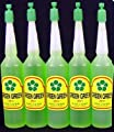 5 Bottles Green Green Plant Food Lucky Bamboo Food (36ml/bottle)