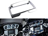 E-most 7239/419652 Chrome Tri Line Stereo Trim Cover For Harley Touring FLH 2014-2017