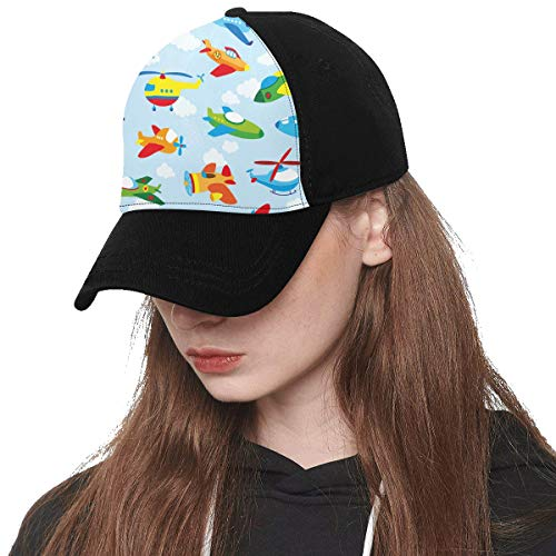 - Baseball Cap Unisex Rocket Hand Drawn Cartoon Research Printing(Front Panel Custom) Cotton Dad Hat Soft Adjustable Trucker Cap Sun Hats for Women Men Hip-hop Sports Summer Beach Outdoor