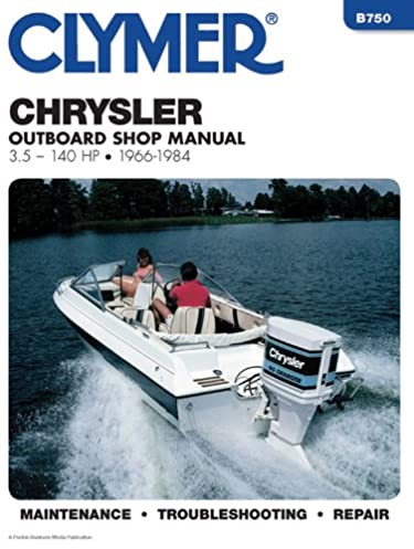 clymer chrysler outboard shop manual, 3 5 140 hp, 1966 1984 pentonclymer chrysler outboard shop manual, 3 5 140 hp, 1966 1984 penton staff 9780892875511 amazon com books