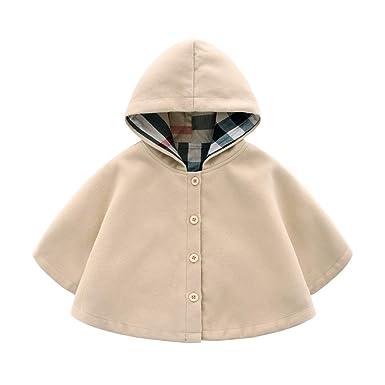 différemment e1907 912b2 ARAUS Manteau Cap Hiver pour Bébé Enfant Fille Blouson Coupe-Vent Veste  Blazar 1-8 Ans