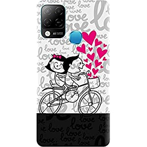 BuyFeb Back Cover Case Compatible for Infinix Hot 10s (Silicon Soft Printed Mobile Cover) – Design327