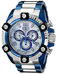 Invicta Men's 15829 Reserve Analog Display Swiss Quartz Silver Watch