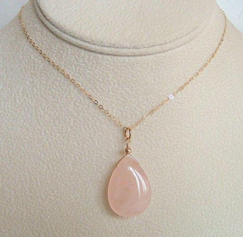 Quartz Briolette Necklace - 1