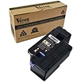 V4ink Toner Cartridge Compatible with Dell 1250 for use with Dell 1250 C1760NW C1760 C1765NFW C1765 C1765NF 1350 1350CNW 1355CN 1355CNW C1355CN - (Black, 1 Pack, 2,000 Pages)