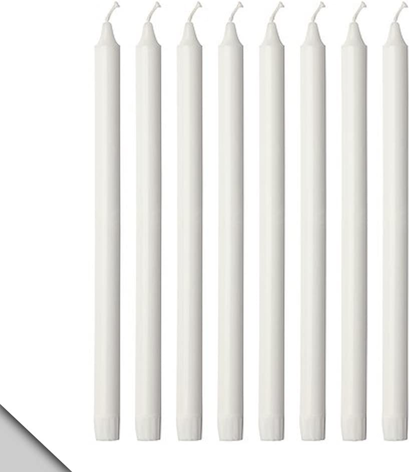 Ikea Jubla Unscented Chandelier Candle White 7 1 2 New Pack Of 20 Sointechile Cl