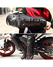 Knee Pads, BSD1002 4pcs Motocross Motorcycle Cycling Elbow Knee and Elbow Pads Guard Protector Protective Gear for Extreme Sports for Men and Women