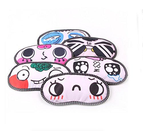 lovely cartoon face sleep masks