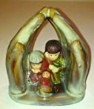Mighty Hands of Love Children's Porcelain Bisque Nativity