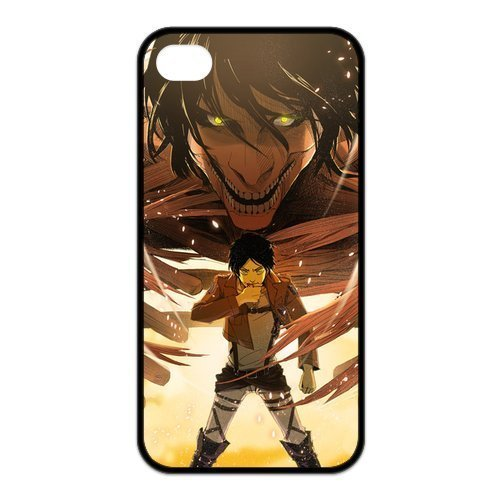 attack-on-titan-eren-jaeger-become-giant-unique-tpu-rubber-case-cover-for-apple-iphone-4-4s-custom-d