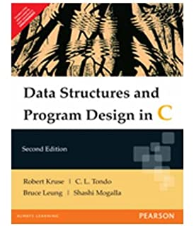 data structures and program design in c amazon in robert l kruse