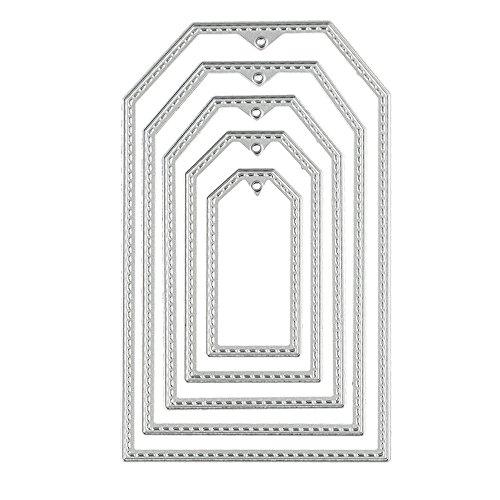 FORUU Die Cut, Metal Cutting Dies Stencils Scrapbooking Embossing Mould Templates Handicrafts DIY Card Making Paper Cards Best Gift Album Craft C (Stampin Up Big Shot Machine For Sale)