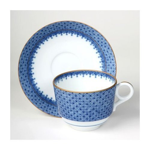 Mottahedeh Blue Lace Cup