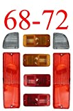 68 chevy truck parts - 68-72 Chevy 8Pc Tail Light Kit w/ Standard Side Lights